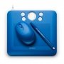 Tableta Wacom Bamboo Fun Small 4x6 USB Azul